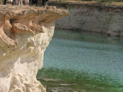 Lagunas de Ruidera; nacimiento del rio mundo